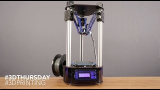 getlinkyoutube.com-Orion Delta 3D Printer Review