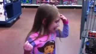 getlinkyoutube.com-Spoiled Kids in Walmart.  Epic temper tantrum.  Self Control Fail.  Total mayhem rotten little bratz