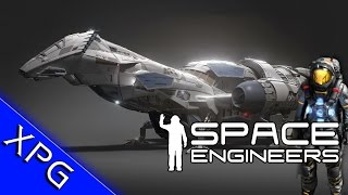 getlinkyoutube.com-Space Engineers - Firefly Class Transport - Serenity (Community Spotlight)