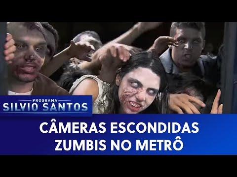 Zumbis No Metrô - Câmera Escondida SBT [Subway Z
