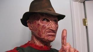 getlinkyoutube.com-Darkride82 Torched Part 4 Freddy Krueger Silicone Mask Review
