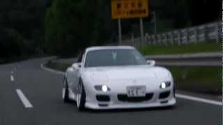 getlinkyoutube.com-'00 RX-7 FD3S Hellaflush Stanced Running Highways