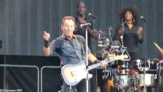 Bruce Springsteen & The E Street Band - You Never Can Tell (rare song), Leipzig 07.07.2013 Live