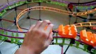 getlinkyoutube.com-2 knex roller coasters - Double Trouble