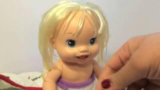 getlinkyoutube.com-العاب الدمى : لعبة بيبي حقيقي  مع الببرونة و الحفاضة و البوتي  العاب بنات و أولاد