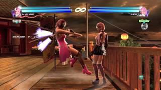 getlinkyoutube.com-Tekken Tag Tournament 2 Alisa Combo Video No Holding Back