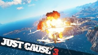 getlinkyoutube.com-JUST CAUSE 3 MOST EPIC STUNT EVER & BOAT SURFING :: Just Cause 3 Crazy Stunts