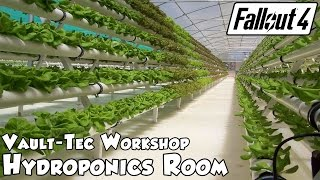 getlinkyoutube.com-Fallout 4 Vault-Tec Workshop - Hydroponics Room