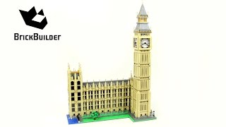getlinkyoutube.com-Lego Creator 10253 Big Ben - Lego Speed Build