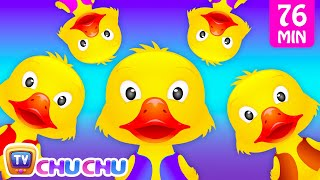getlinkyoutube.com-Five Little Ducks and Many More Numbers Songs | Number Nursery Rhymes Collection by ChuChu TV