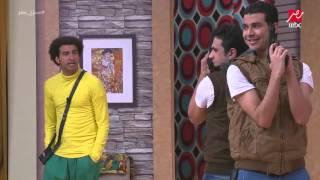getlinkyoutube.com-مصطفى خاطر و محمد أنور في مسلسل صائدوا الفئران في رمضان