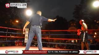 Jorge Perez vs. Emil Robinson Harrison Park Boxing Event Pilsen