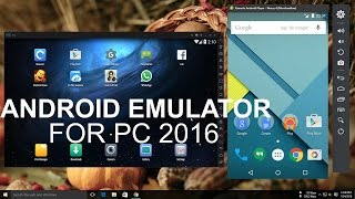 getlinkyoutube.com-Top 5 Best Android Emulator For PC 2016