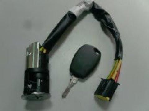Замена замка зажигания(контактной  группы)Renault Logan,Sandero,Lada Largus.