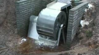 getlinkyoutube.com-Stainless Steel Waterwheel Hydro Power