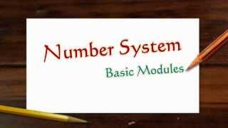 getlinkyoutube.com-Number System Basics (Part 1/3 Module 1 Numbers system)