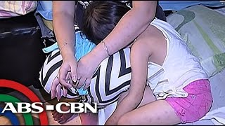 Bata, muntik matangay sa loob ng paaralan sa Cavite