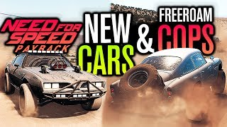 FREE-ROAM COPS & NEW CARS UPDATE!! | Need for Speed Payback