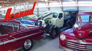 getlinkyoutube.com-Shed Tour Part 2 - Hot Rods Muscle Cars and Classics