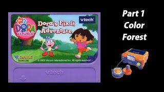 getlinkyoutube.com-Dora the Explorer: Dora's Fix-it Adventure (V.Smile) (Playthrough) Part 1 - Color Forest