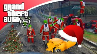 getlinkyoutube.com-GTA V Freeroam - KERST UPDATE EN HACKERS! (GTA 5 Online Christmas)