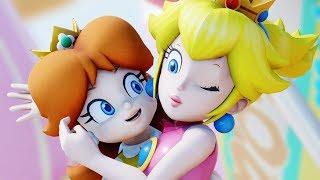 [MMD] Peach & Daisy 「 No title 」