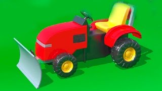 getlinkyoutube.com-Cartoni Animati per Bambini - Al parco giochi - un bulldozer - Impariamo a contare fino a 4