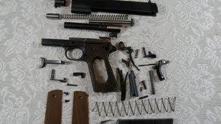 getlinkyoutube.com-Pistola 1911 - Desarme Completo - Springfield 1911 A1