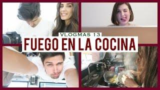 getlinkyoutube.com-Se quema la cocina | Vlogmas 13