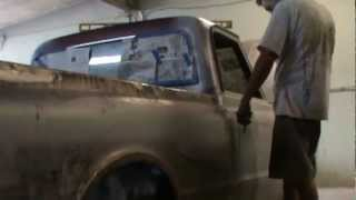 how to install side molding on a 67 to 72 chevy truck