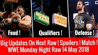 WWE Raw 14 May 2018 ! Huge Spoilers, Updates, Matches ! Roman Reigns Vs Jinder Mahal ! Raw 5/14/2018