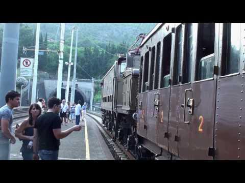 ritorno al passato...   treno storico atsl 25\7\09 e626.294 + e636.265 FULL HD