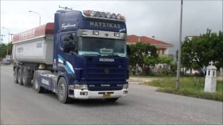 getlinkyoutube.com-Scania 164L 580 & 164L 480 V8 sound compilation