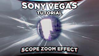 (SONY VEGAS TUTORIAL) Scope effect!!!