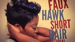 getlinkyoutube.com-Faux Hawk Short Hair Tutorial