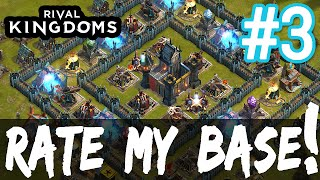 getlinkyoutube.com-★ STRONGHOLD 8 BASE REVIEWS! Rival Kingdoms: Rate My Base - Part 3