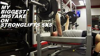 getlinkyoutube.com-My Biggest Mistake on StrongLifts 5x5