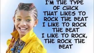 getlinkyoutube.com-21st Century Girl - Willow Smith - Lyrics