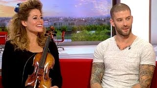 Lettice Rowbotham and Darcy Oake on BBC Breakfast