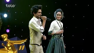 getlinkyoutube.com-Afghan Star Season 11 - Top 11 Elimination - Sahar Arian & Mansoor Arian