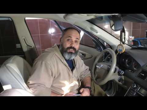 Как снять рычаг переключения с Volvo XC 90