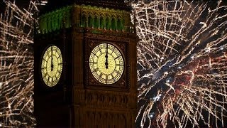 getlinkyoutube.com-London Fireworks 2014 - New Year's Eve Fireworks - BBC One
