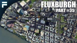 "getlinkyoutube.com-Cities Skylines - Fluxburgh [PART 35] ""Custom Skyscrapers & Huge Skyline"""