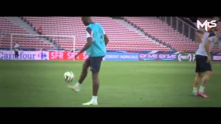 Hachim Mastour vs Paul Pogba-Freestyle Show