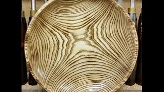 Woodturning - Scorching and Dying - An Introduction