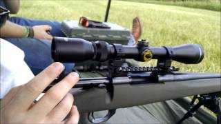 Tasco Pronghorn 100 Yard Accuracy/First Thoughts (Diamond Reticle 3-9x40)