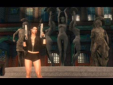 Sexy Kitten Yarngasm (Saints Row: The Third) Full HD