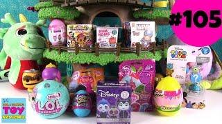 Blind Bag Treehouse #105 Unboxing Disney LOL Surprise Trolls Shopkins | PSToyReviews