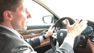 2017 BMW 740xe Plug-in Hybrid test-drive