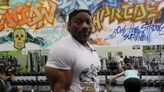 "getlinkyoutube.com-Dexter ""The Blade"" Jackson Arm Workout"